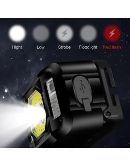 Pratik Sensörlü Sinyalli Kafa Lambası Watton Wt-024