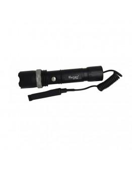 Tüfek ve Bisiklet Feneri Şarjlı Pilli Watton Wt-040