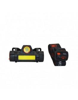 8 Saat Dayanıklı Şarjlı Sensörlü Mıknatıslı Kafa Lambası Watton Wt-055
