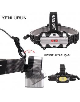4 Modlu Sensörlü Şarjlı  Güçlü Kafa Lambası Watton Wt-248